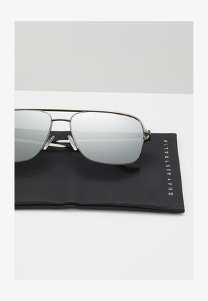 POSTER BOY RIMLESS - Sunglasses - gunmetal, grey