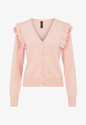 Cardigan - cradle pink