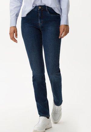 STYLE CAROLA - Slim fit jeans - used dark blue