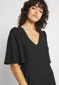 Vero Moda - VMODETTA DRESS - Jersey dress - black - 3