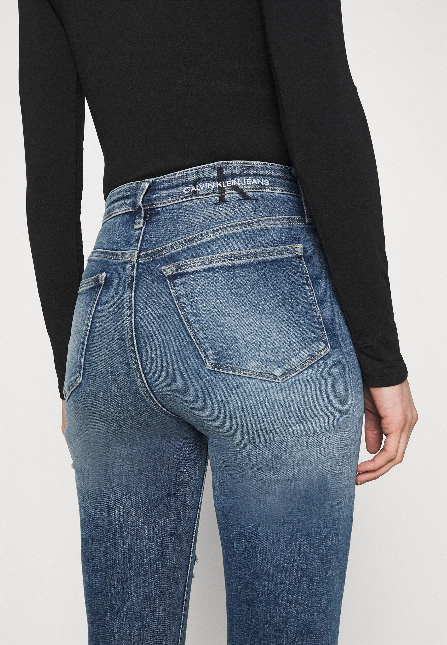 Femme HIGH RISE SKINNY - Jeans Skinny