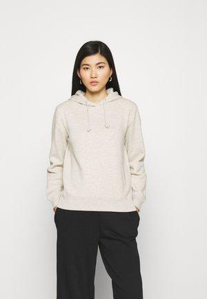 AUTH HOODY - Sweatshirt - beige