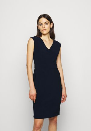 BONDED DRESS - Shift dress - lighthouse navy