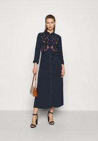 YAS - YASSAVANNA DRESS - Maxi dress - dark sapphire - 1