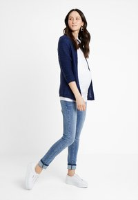 Supermom - DAMAGED - Jeans Skinny Fit - blue denim - 1