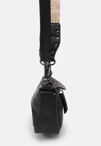Desigual - BOLS LYRICS LUISIANA MEDIUM - Across body bag - black - 3