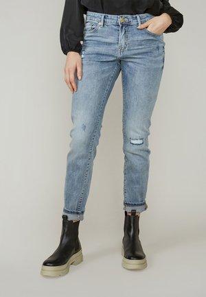 RAIN - Jeans Tapered Fit - vintage blue denim