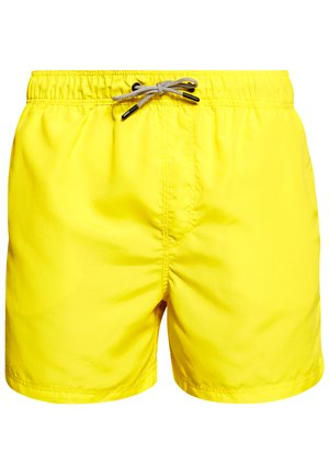 JJIARUBA SWIM  SHORTS - Plavky - blazing yellow