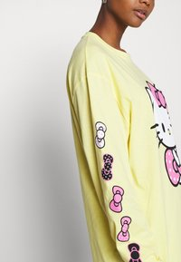 NEW girl ORDER - SLEEVE PRINT - Long sleeved top - yellow - 4