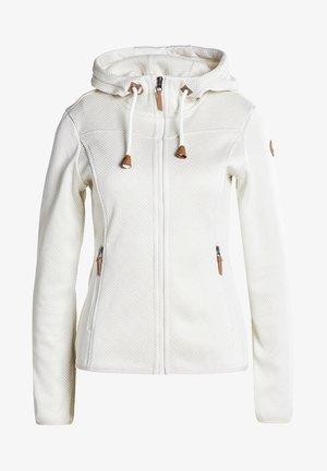 MIDLAYER EP ARDMORE - Zip-up sweatshirt - naturweiss