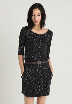 TANYA ORGANIC - Jersey dress - black