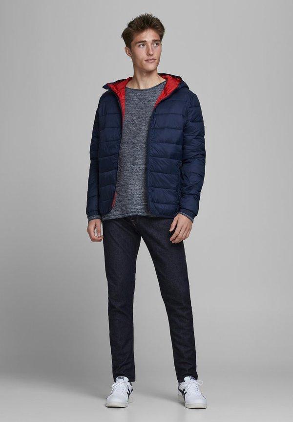 Jack & Jones Kurtka przejściowa - navy blazer/niebieski Odzież Męska XLPY