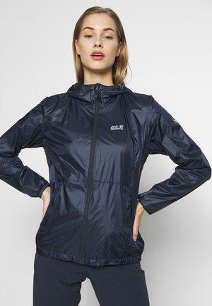 BREATHER - Waterproof jacket - night blue