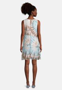Cartoon - MIT PRINT - Day dress - blau/taupe - 1