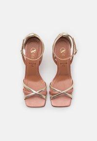 Oxitaly - ALYSSA - Korolliset sandaalit - sirio rosa/platino/rosa - 5