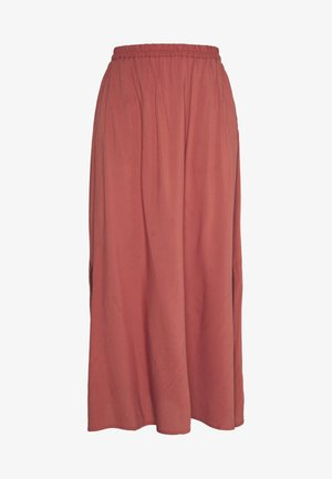 VMSIMPLY EASY SKIRT - Áčková sukně - marsala