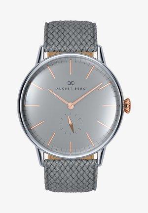 UHR SERENITY NORDIC GRANITE L GREY PERLON 40MM - Watch - cool grey
