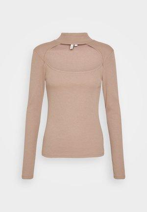 MAKE THE CUT - Long sleeved top - beige
