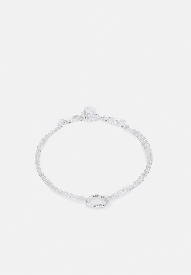 BESSIE BIG CHAIN BRACE - Bracelet - silvercoloured