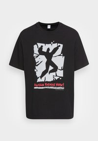 HUMAN RIGHTS NOW GRAPHIC - T-shirt con stampa - black