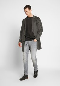 Jack & Jones PREMIUM - JPRFLOW  - Short coat - light grey melange - 1