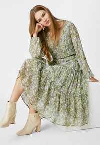C&A - FIT & FLARE - Day dress - light green - 1
