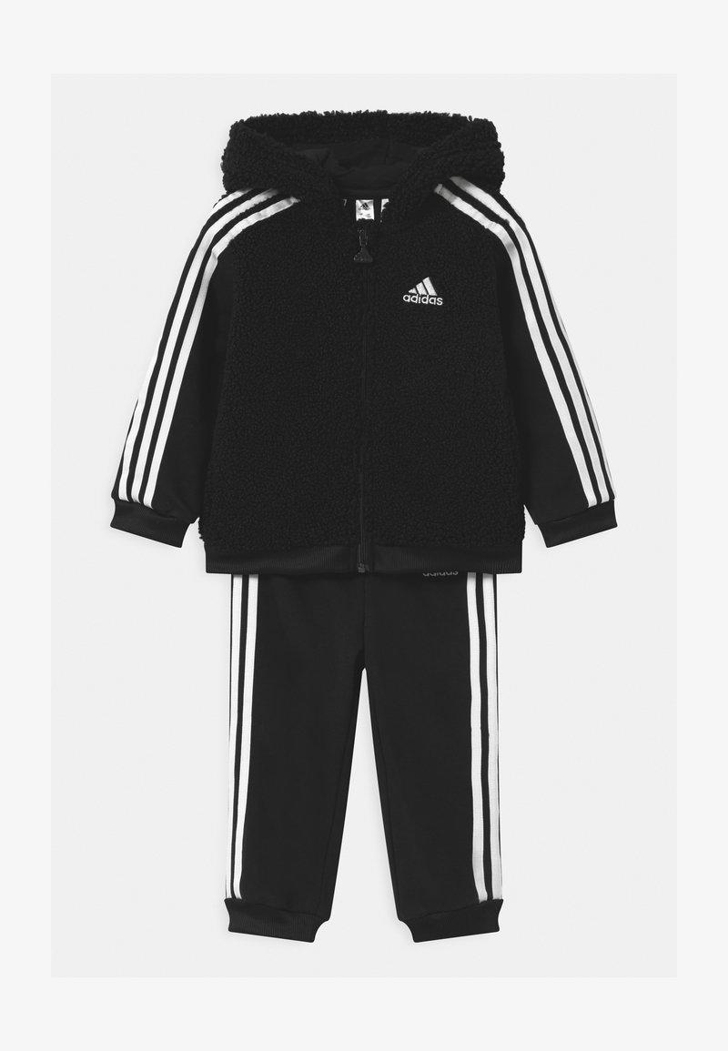 adidas Performance - UNISEX - Tracksuit - black/white