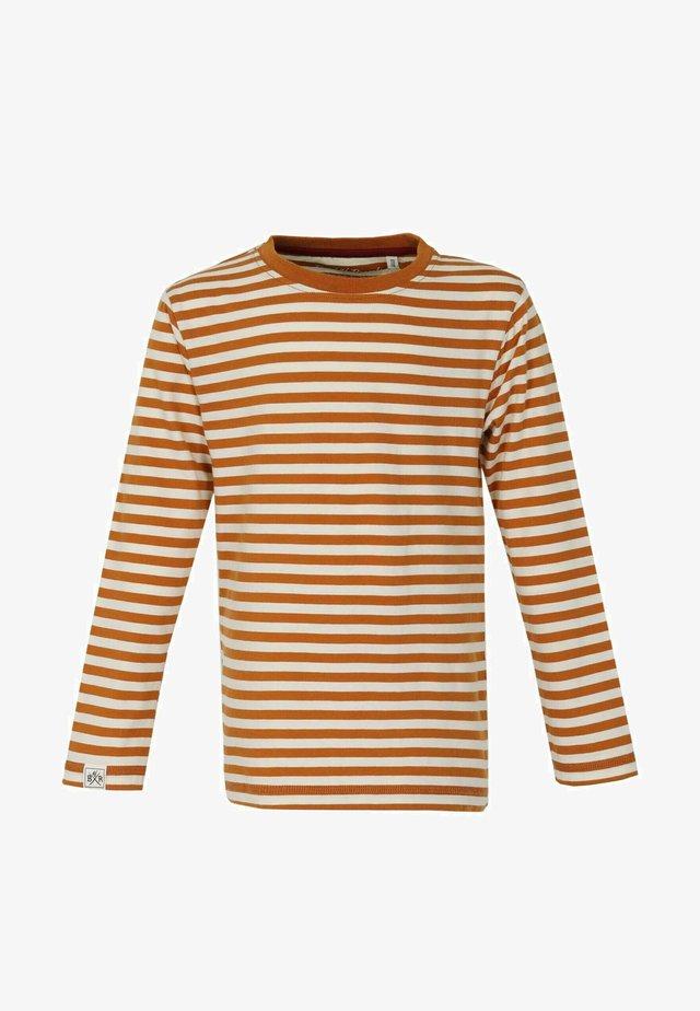 Långärmad tröja - rust