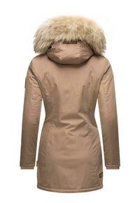 Navahoo - Winter coat - taupe grey - 3