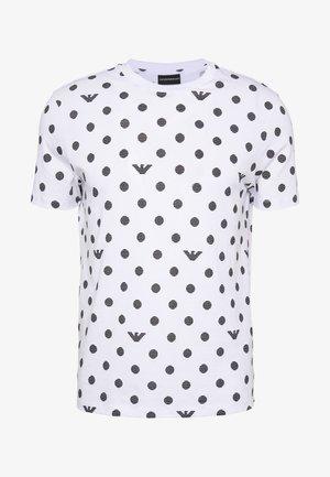 T-shirt con stampa - pois nero