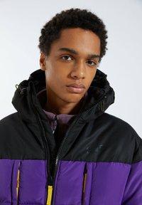 PULL&BEAR - Winter jacket - purple - 2