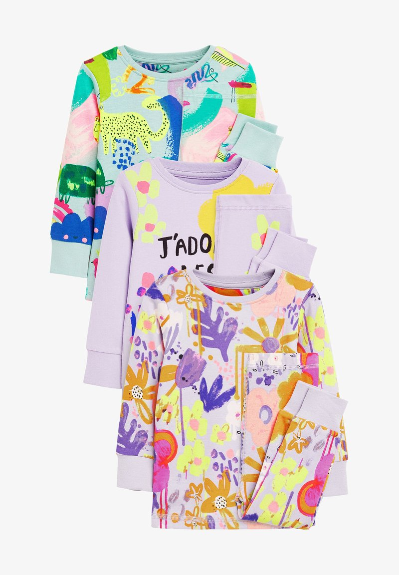 Next - 3 PACK FLORAL/CHARACTER - Pyjama set - multi-coloured