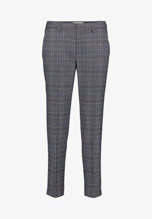 Trousers - blau/weiß