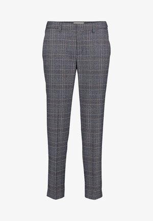 Pantalon classique - blau/weiß