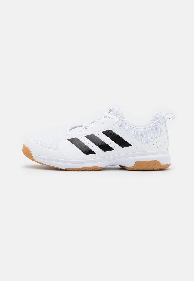 LIGRA 7  - Käsipallokengät - footwear white/core black