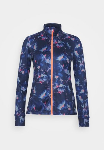 CLIME  - Fleece jacket - blue/pink/purple