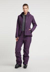 PYUA - Trousers - shadow purple - 1