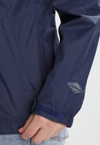 Columbia - POURING ADVENTURE JACKET - Hardshell jacket - dark blue - 3