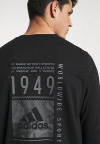 adidas Performance - Long sleeved top - black - 4