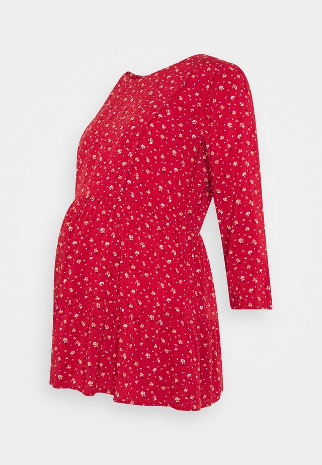 LEORA - Blouse - red