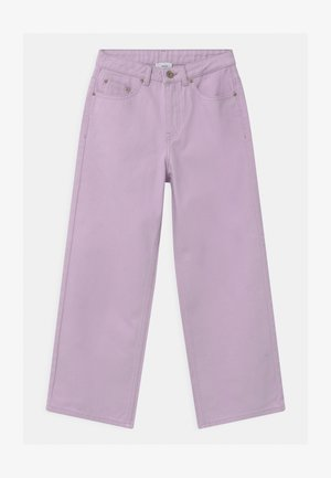 WIDE LEG  - Relaxed fit jeans - light purple
