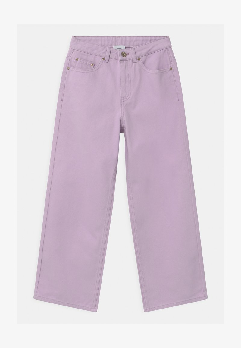 Grunt - WIDE LEG  - Džíny Relaxed Fit - light purple