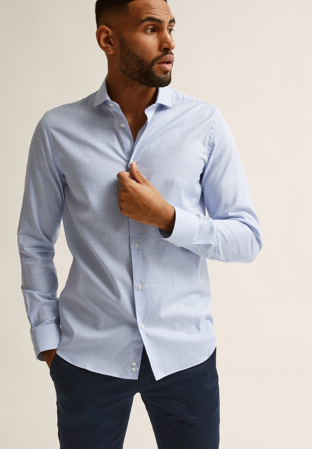 MARCO  - Chemise - blue check