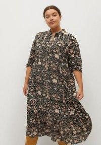 Violeta by Mango - NATALIA - Shirt dress - schwarz - 0