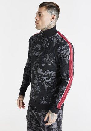 Training jacket - black hawaii