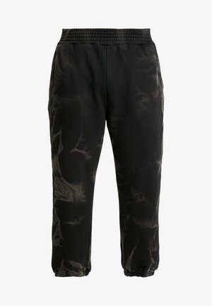CRACKED PANT - Tracksuit bottoms - black