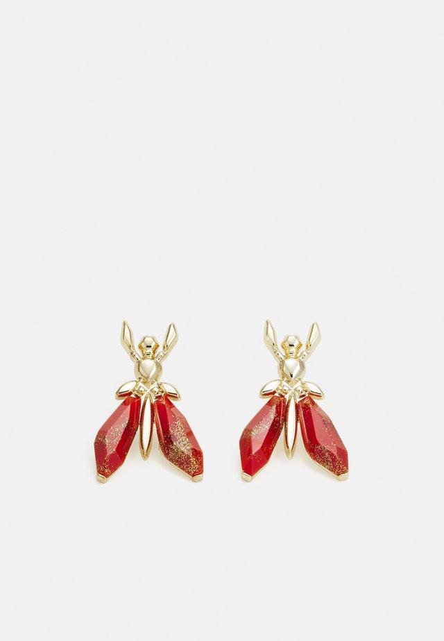 ORECCHINI EARRINGS - Boucles d'oreilles - marble red