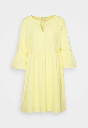 DRESS - Day dress - light yellow