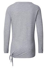 Noppies - HEATHER - Long sleeved top - grey melange - 5