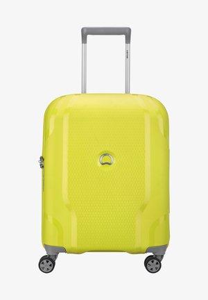 CLAVEL - Valise à roulettes - limone